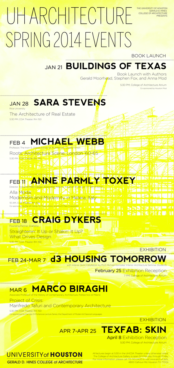 U of H architecture Spring Poster