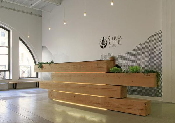 sierra club reception desk