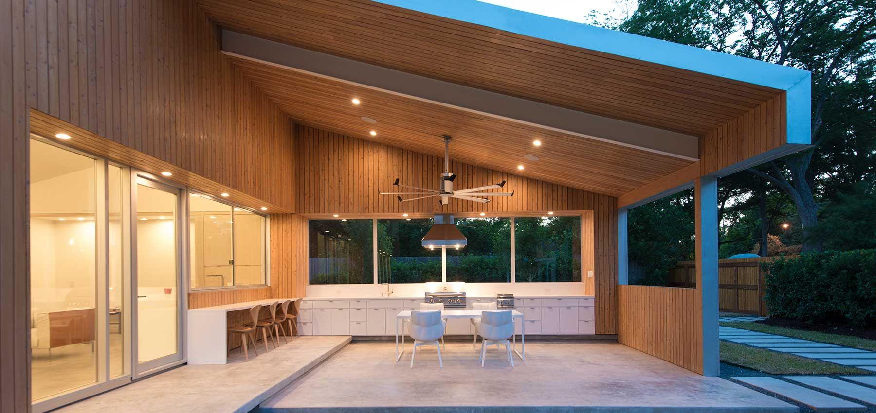 nested House patio
