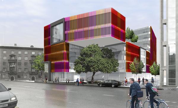 Colorfield building