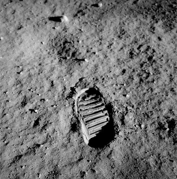 johnson on the moon