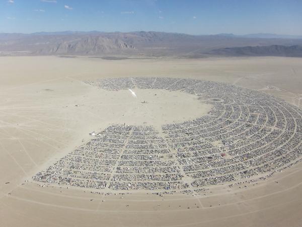 Burning Man creative commons