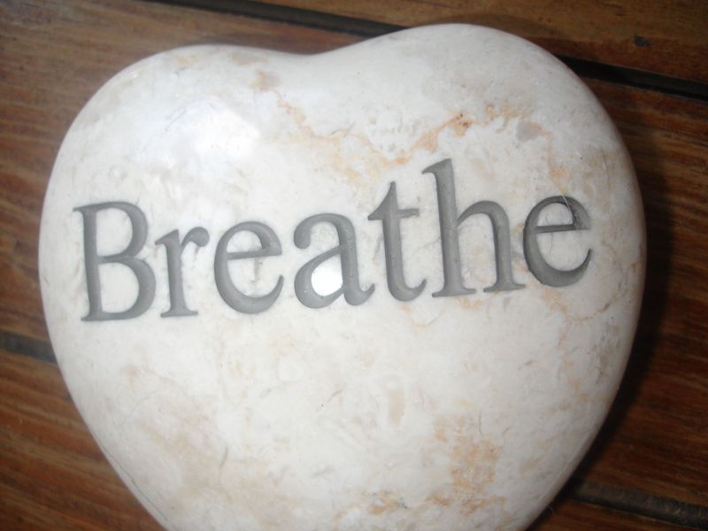 Massage Therapist - how to breathe