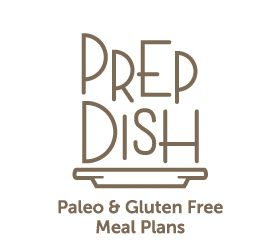 Prep Dish Meal Paleo & Gluten Free Meal Plans Logo