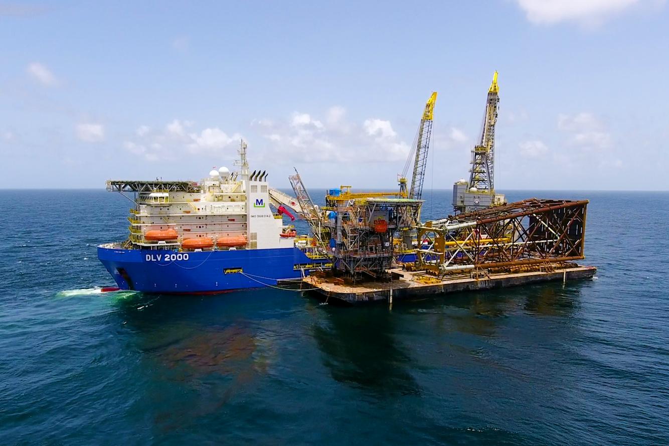 McDermott's Offshore Platform Series