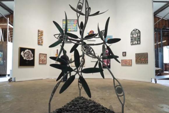 James Surls   Splendora Flower Show