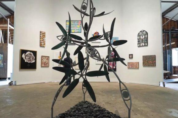 James Surls | Splendora Flower Show