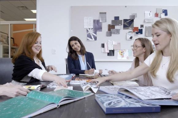 Laura U Interior Design + Vetrazzo
