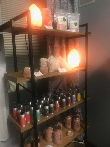 Salt Rock Lamps for Sale in Manitowoc