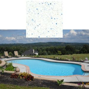 Altima Blue Pool Surface