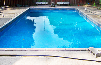 pool liner after