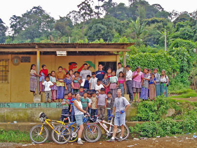 Students and volunteers at El Hato school near Antigua, Guatemala.jpg