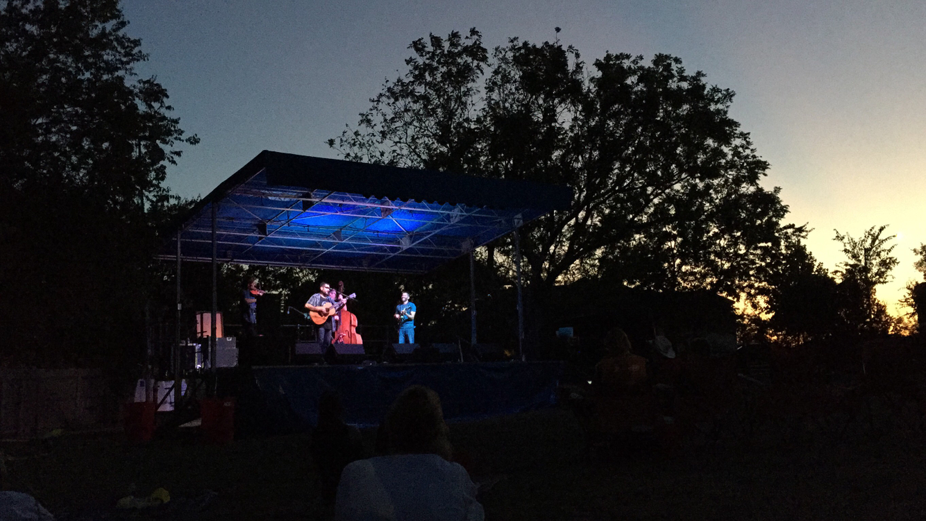 Out of the Blue at Leander Bluegrass Fest, 2017/09/22