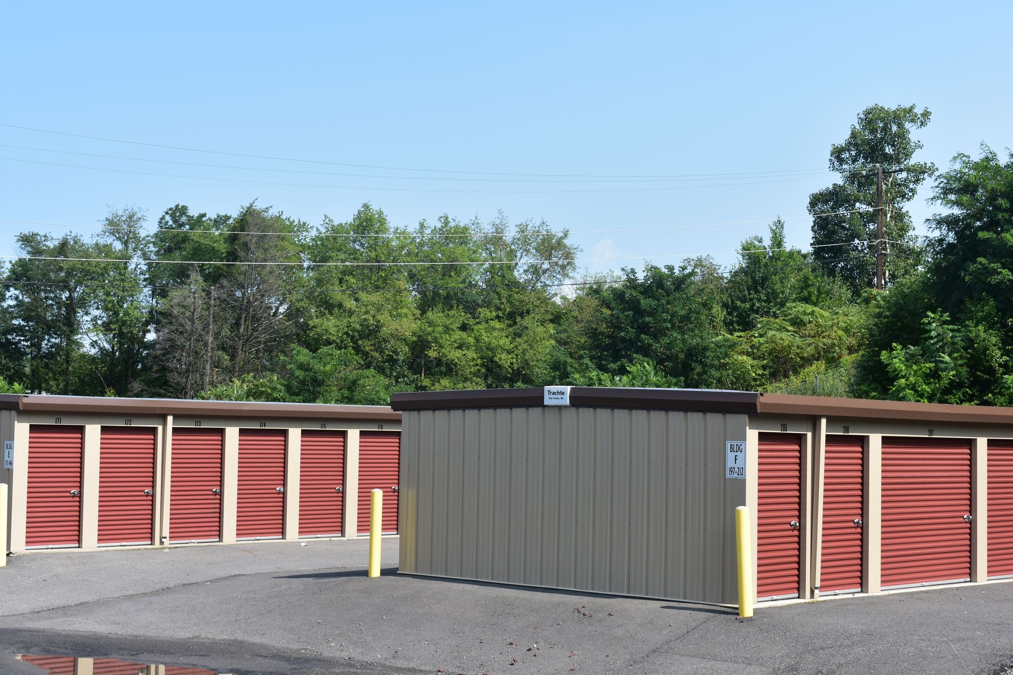Storage Units in Pittston