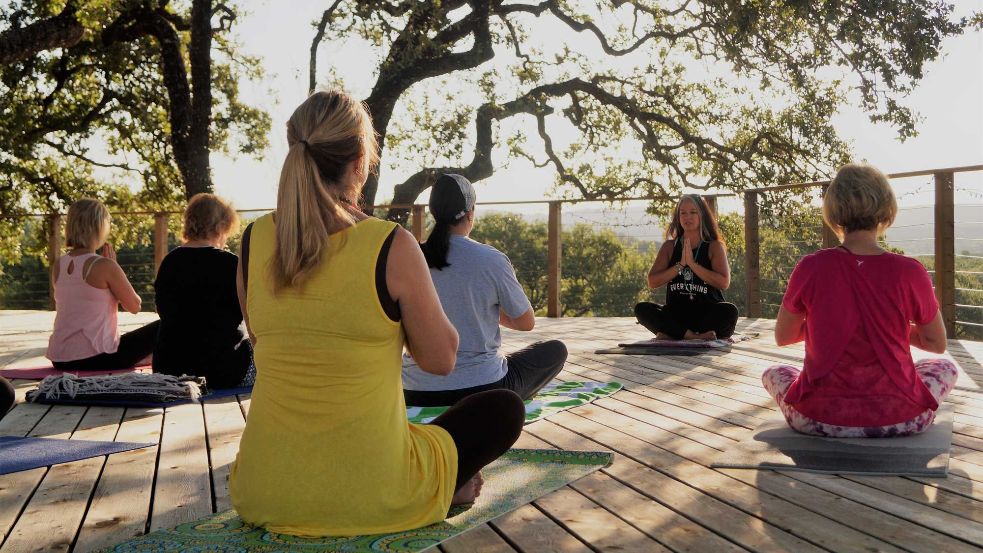 Texas Hill Country Yoga and Corporate Retreat