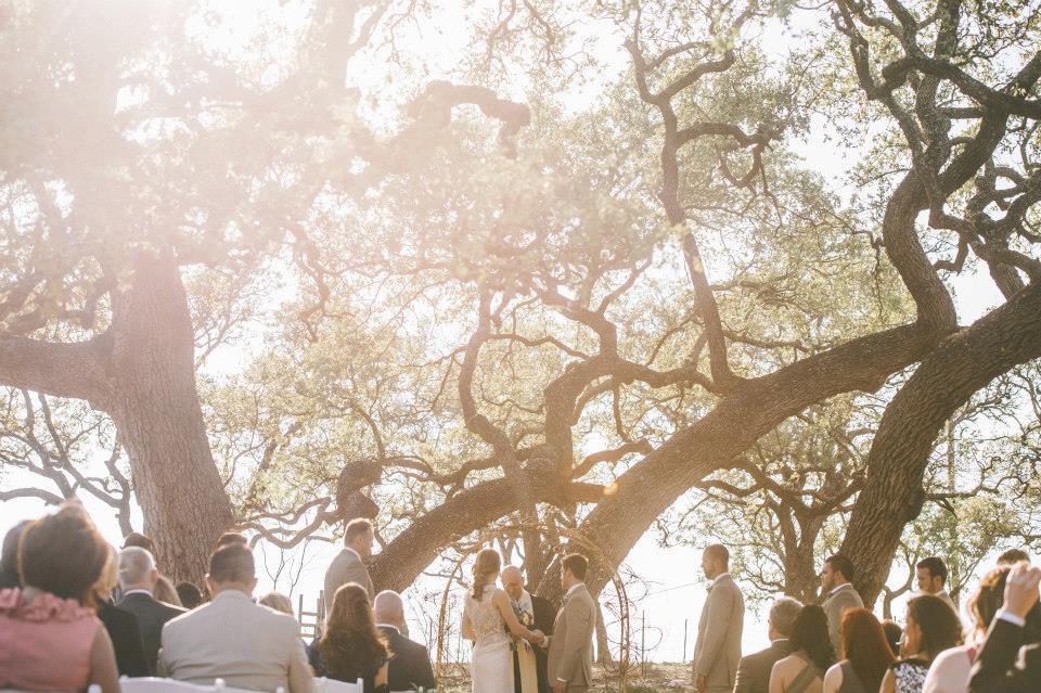 Marble Falls Texas Outdoor Wedding Venue