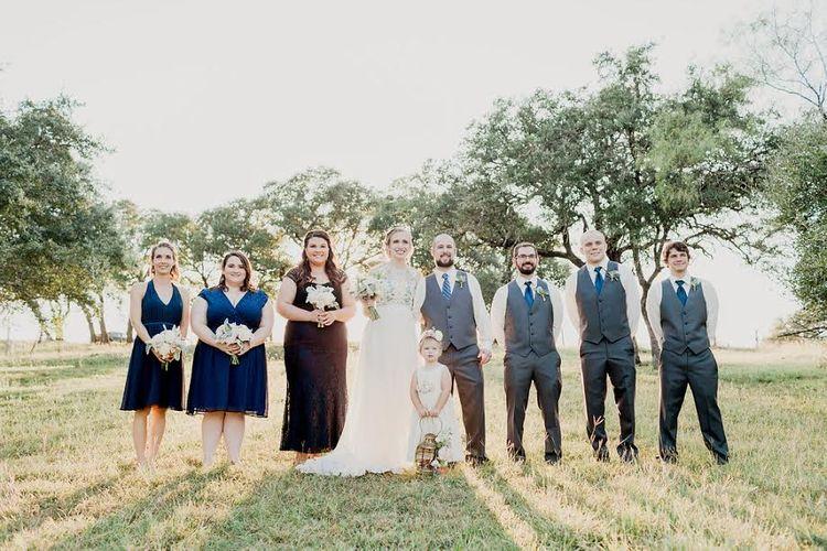Outdoor Country Wedding Texas