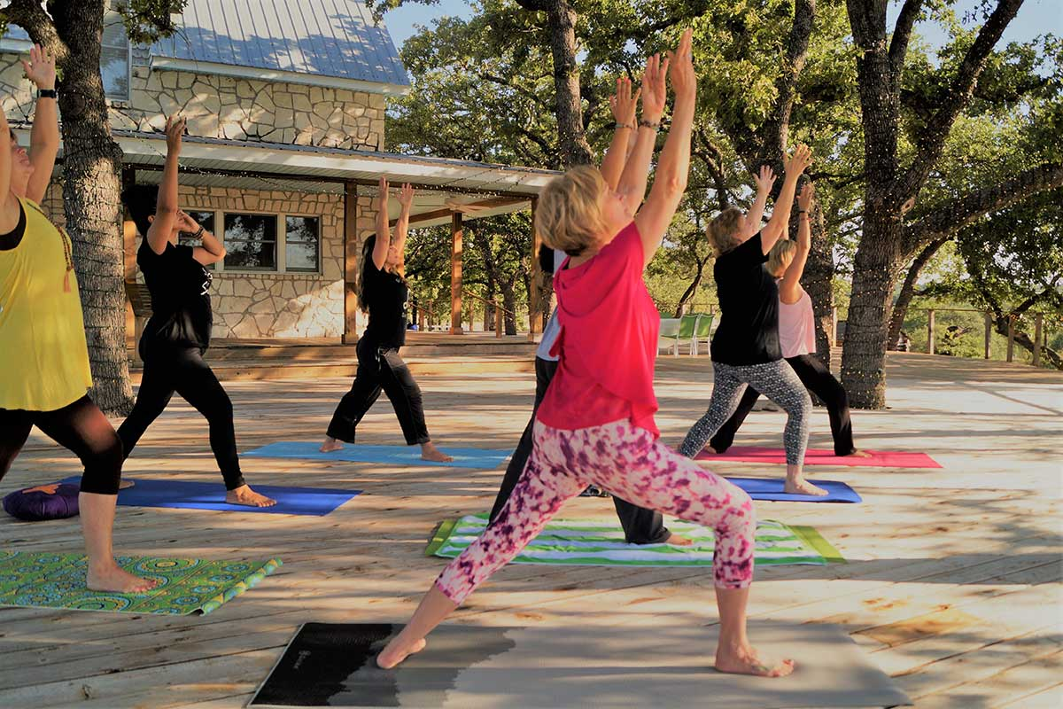 Yoga and Wellness Retreat in Texas Hill Country