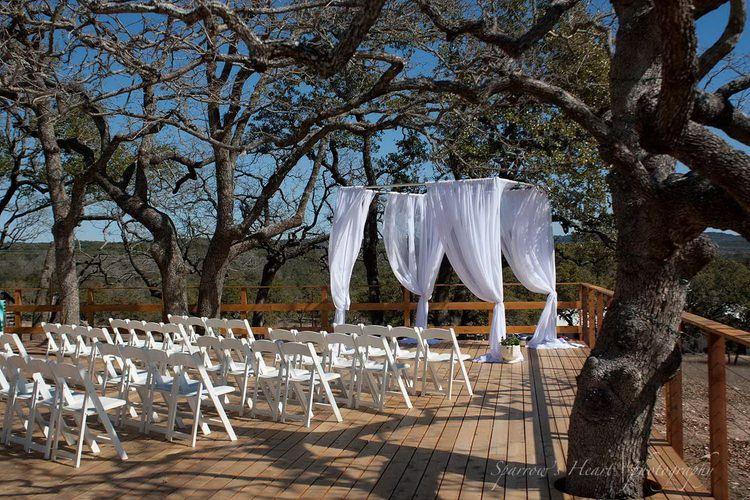 Outside Wedding Venue Central Texas