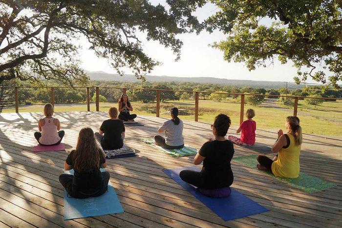 Yoga Retreat in Marble Falls, Texas