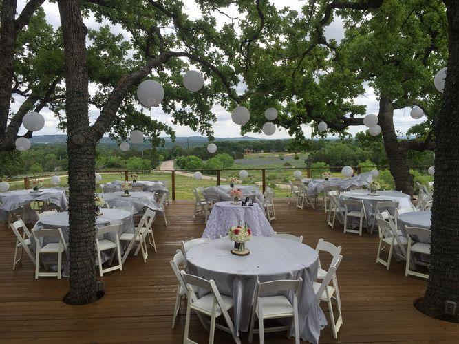 Outdoor Texas Hill Country Wedding Venue