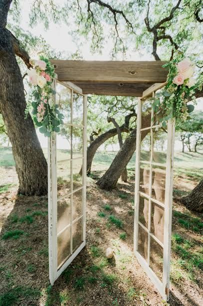 Outdoor Rustic Wedding Texas