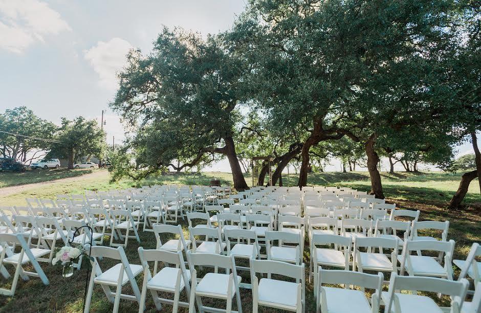 Outdoor Wedding Venue Marble Falls Texas