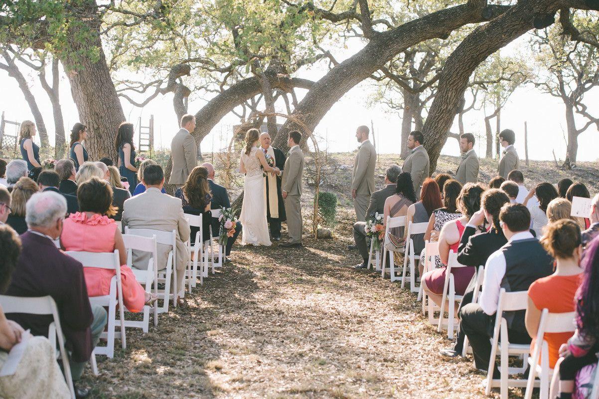 Outdoor Country Texas Wedding