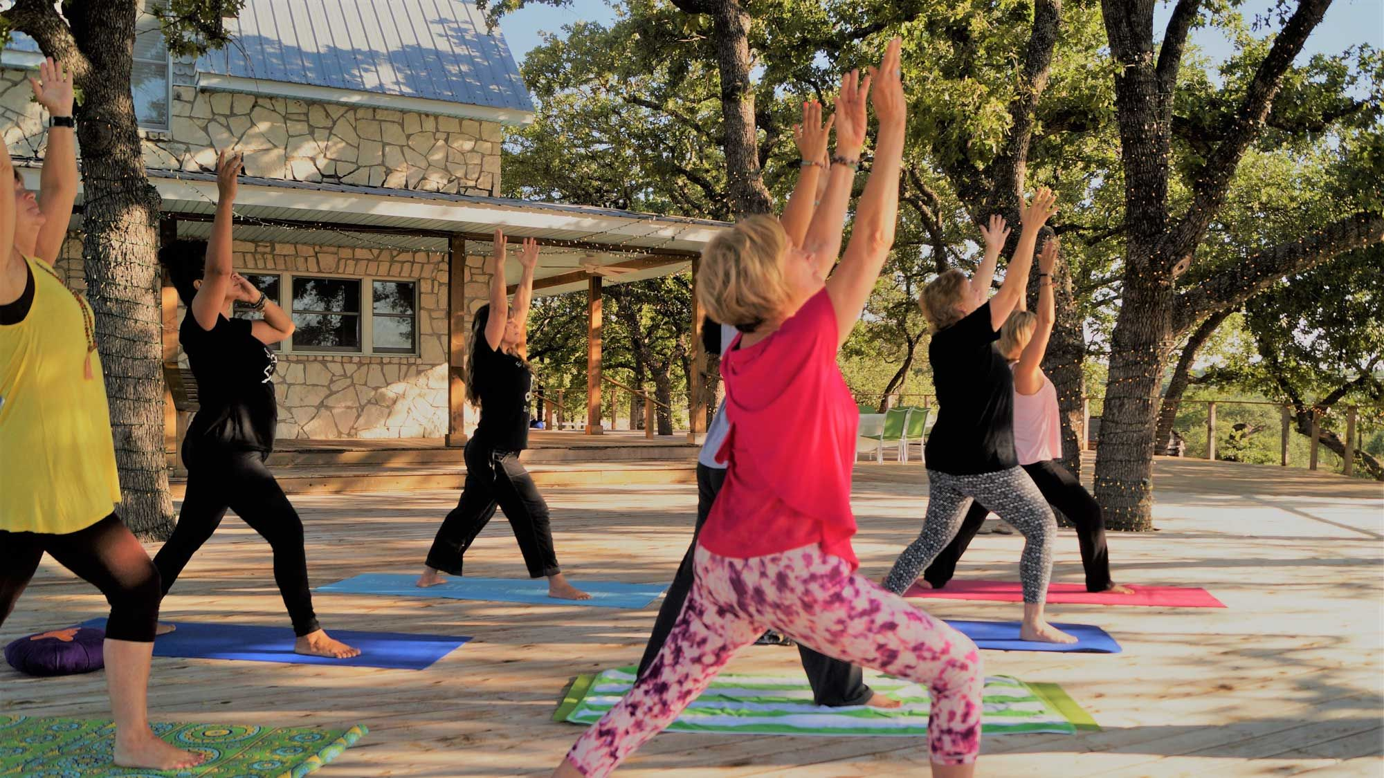 Marble Falls Yoga Retreat