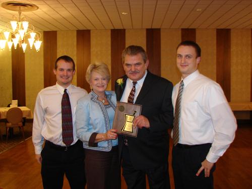 Vyto receiving the Sperandio Award