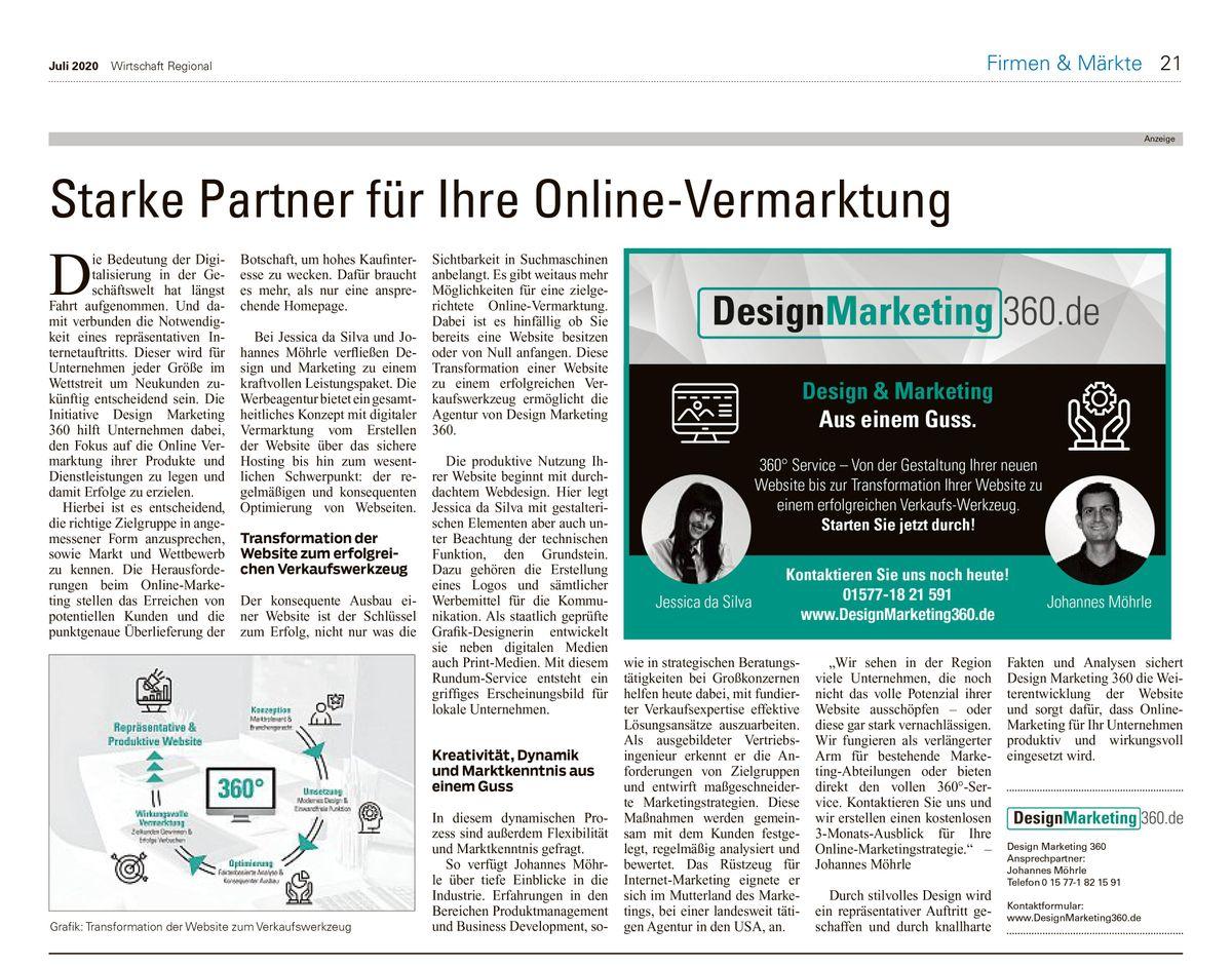 2020-07 Wirtschaft Regional Artikel Starke Partner Online Vermarktung.jpg