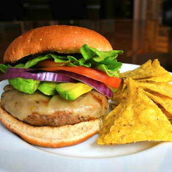ROYITO'S JUICY SKILLET TURKEY BURGERS