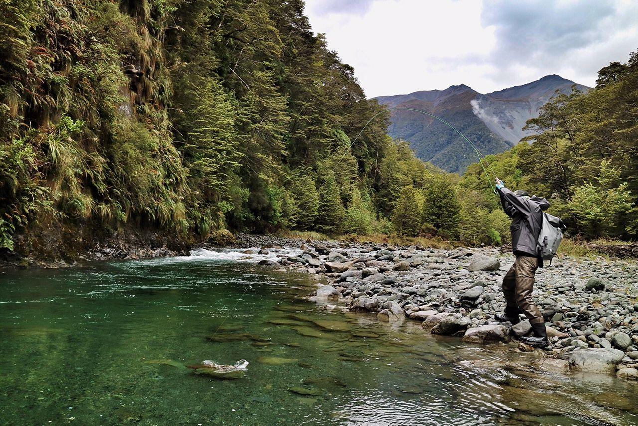 River Fishing in Queenstown New Zealand