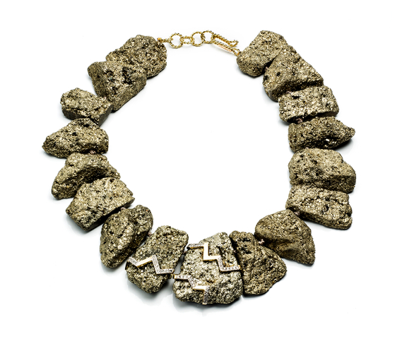 Kara Ross_Pyrite Statement Necklace.jpg