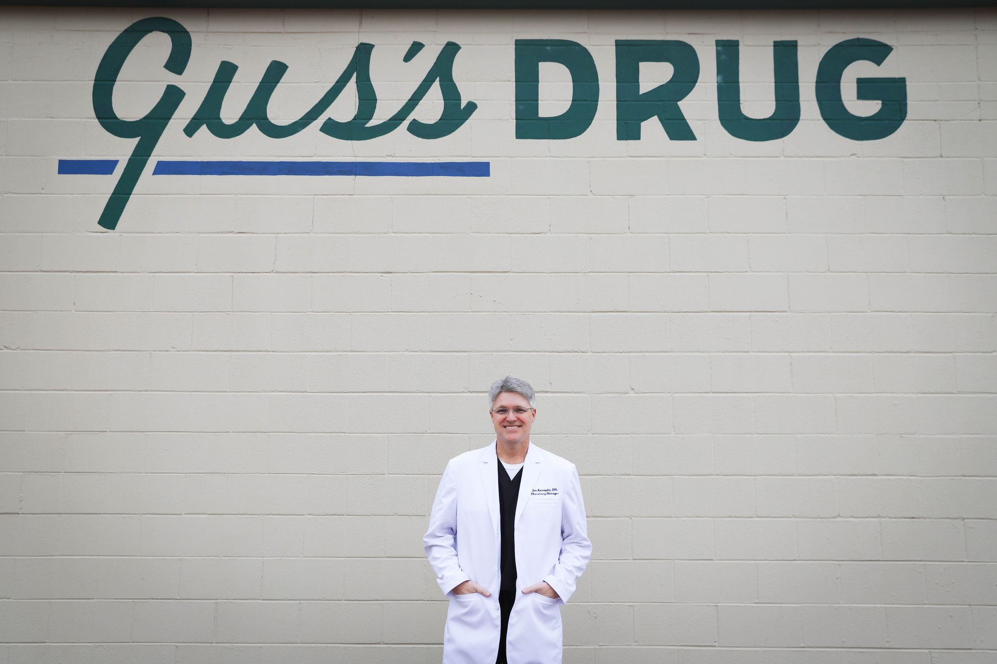 Support Local. Shop Gus's Drug.
