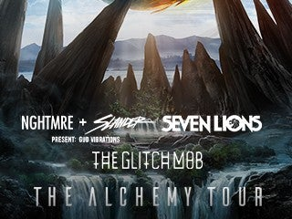 The Alchemy Tour: NGHTMRE + SLANDER, Seven Lions, The Glitch Mob