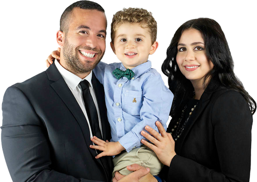 Dr Ed and Dr Laila Zeid and son.png