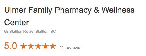 Reviews - Ulmer Family Pharmacy and Wellness Center