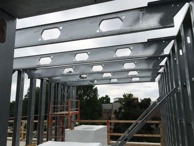 The Abott Apartments East Lansing Michigan Steel Framing