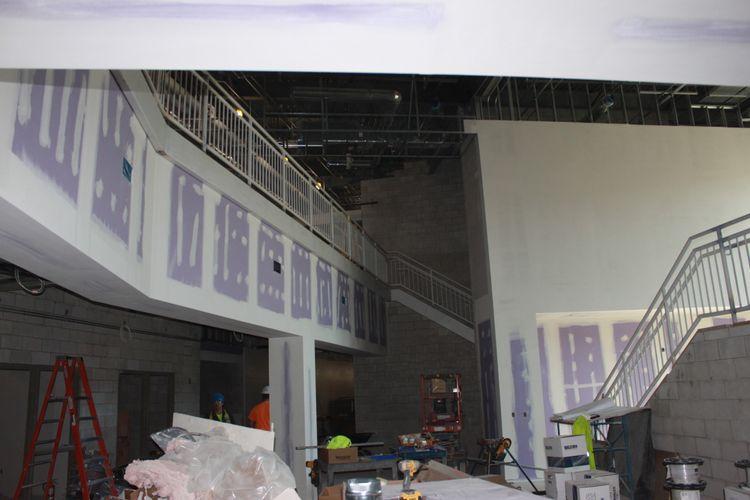 Fremont Ross High School Stairwell OCP Contractors
