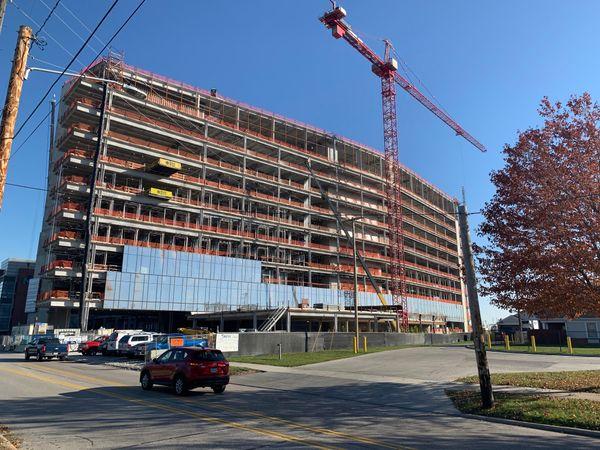 Metrohealth Cleveland OCP Contractors construction project