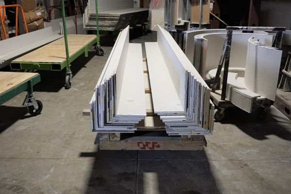 Lean prefabricated drywall