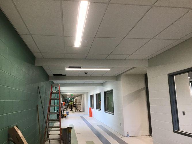 OCP Construction Walls and Ceilings Northridge Elementary School