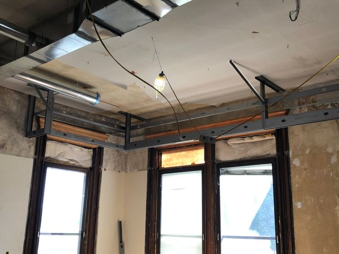 Historical Construction Acoustical Ceilings