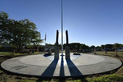 Shane Hughes photo of 9 11 Memorial at 180th.JPG