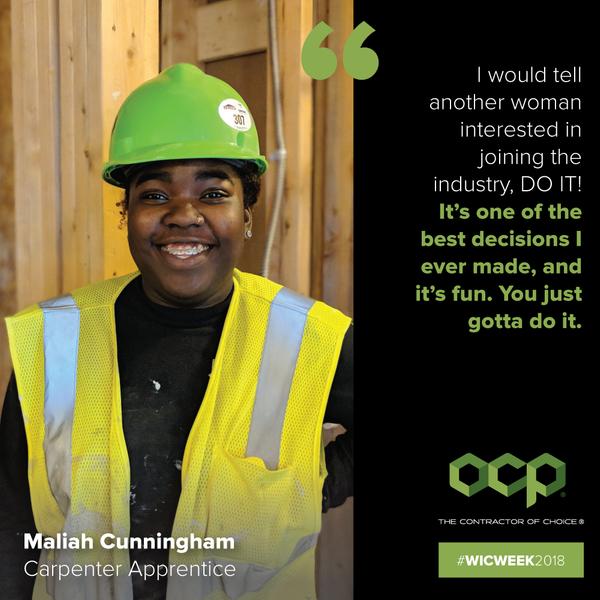Maliah Cunningham - OCP Contractors