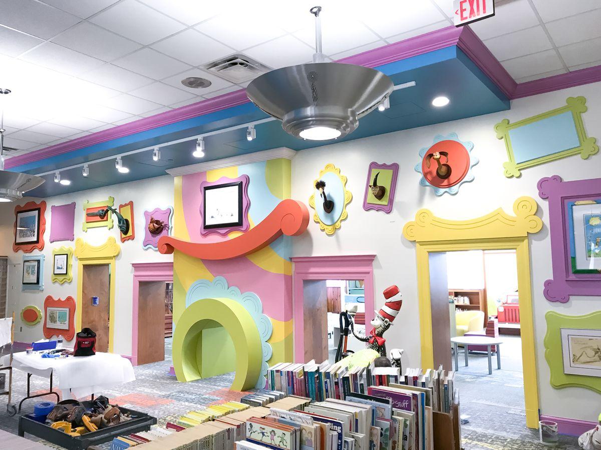Lynn Campbell Toledo Public Library Dr. Seuss Mural