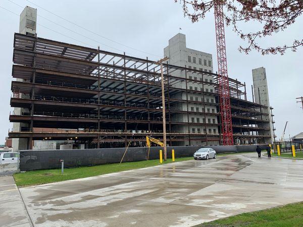 Metrohealth Cleveland under construction