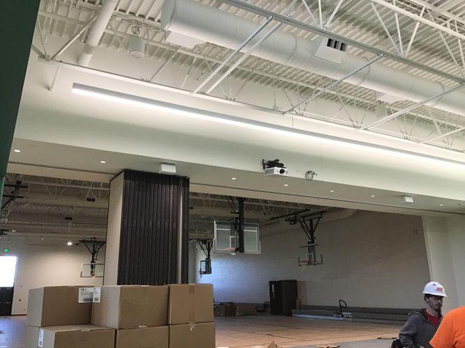 OCP Gymnasium Construction Northridge Elementary School