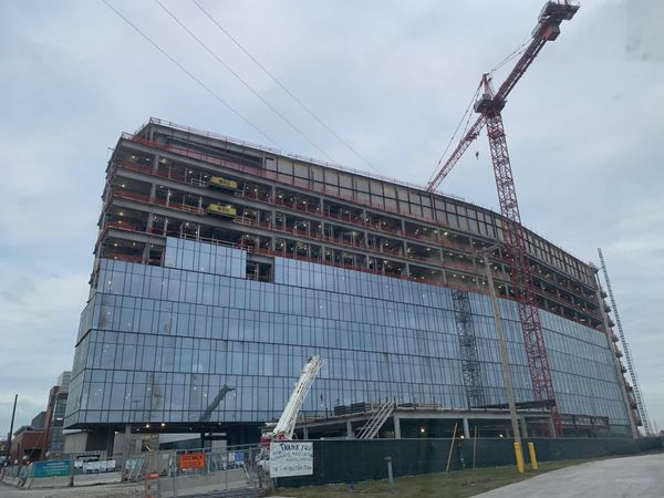 Metrohealth Cleveland OCP Contractors construction project update
